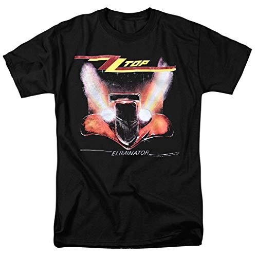 ZZ Top Eliminator Album T Shirt & Stickers (XX-Large) Black