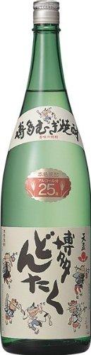 天盃 博多どんたく 麦 25度 1.8L [瓶] [岡永/天盃/福岡県]※送料無料