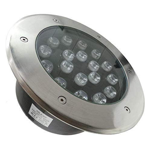 Spot Extérieur Encastrable LED IP65 220V Sol 18W 60° - Blanc Neutre 4000K - 5500K
