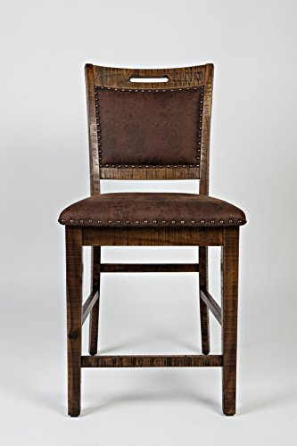 Jofran: , Cannon Valley, Counter Height Stool, 20'W X 24'D X 42'H, Cannon Valley Finish, (Set of 2)