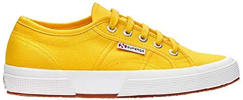 Superga Superga Unisex-Erwachsene Classic Sneaker Low-Top 2750 Cotu Classic, Orange Sunflower, 37 (Herstellergröße: 4)