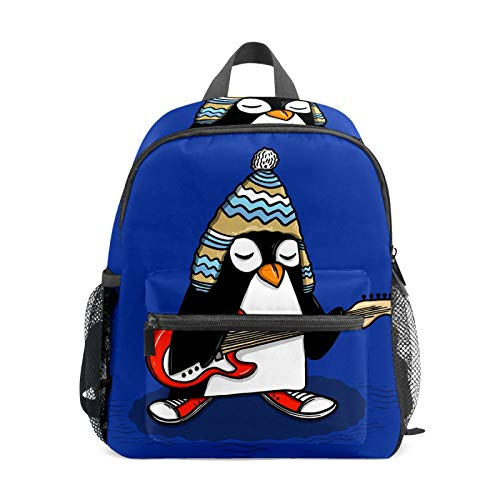 Backpack Student Bookbag for Kids Girls Boys,Penguin Casual Daypack School Travel Bag Organizer Gift