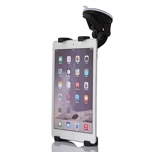 Navitec24 Tablet-Halterung UNIVERSAL 360-Grad Auto Fensterhalter Saugnapf kompatibel mit Apple Ipad 3 4 5 6 Mini Air Kindle Samsung Galaxy TAB Google Pixel Longshine Tolino Lenovo Tab Huawei Sony