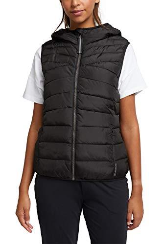 ESPRIT Sports Womens Weste Sporty Vest, 001/Black, XS