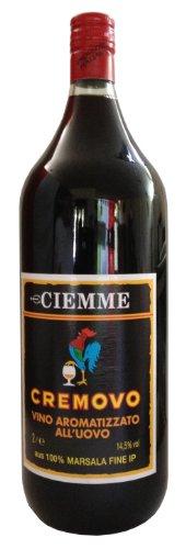 Marsala Cremovo Ciemme 2 L - Vino Aromatizzato all´Uovo - Aromatisierter Wein mit Ei 14,5% Vol. aus Italien