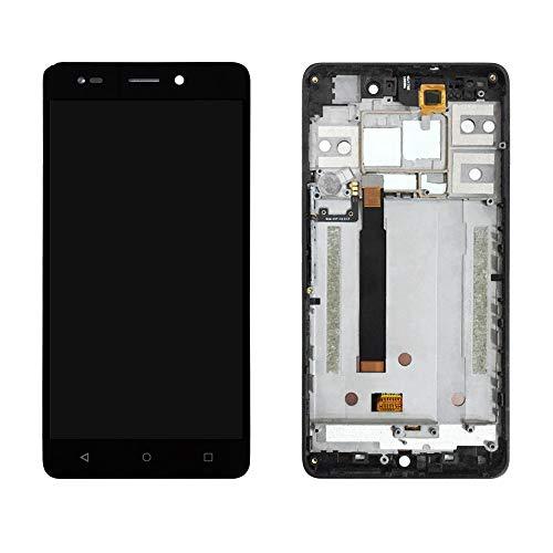 MOVILSTORE Pantalla Completa LCD + Tactil + Marco Compatible con BQ Aquaris M 2017 / M 5.5 Negro