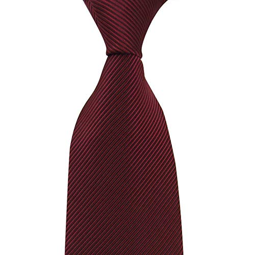 HXF- Formale Sposo Business Tie degli Uomini Rossi Cerimonia Nuziale degli Uomini del Legame degli Uomini Groomsmen Professionale di Cerimonia Nuziale di Moda del Vino Rosso Signore (Color : D)