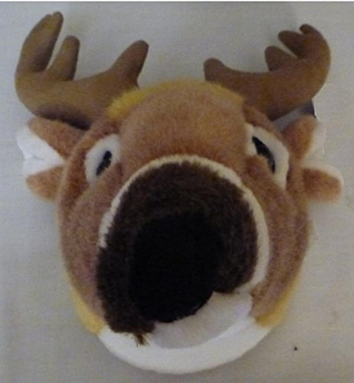 bienvenido a elegir 11 11 11 blanco Tailed Deer Head Plush Stuffed Animal Juguete by SAH  venta mundialmente famosa en línea