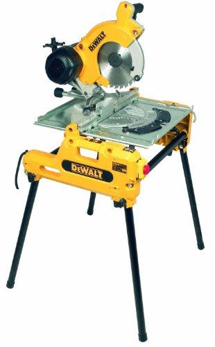 DEWALT DW743N-QS Tisch-,Kapp-Gehrungsäge / 2000W inkl. Paralellansch.