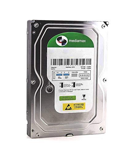 "Mediamax 3.5\"" (8,9 cm) interne Festplatte 640GB HDD, SATA III, 6.0 Gb/s Cache 32MB, RPM: 7200 (U/min), WL640GSA3272B, SATA Festplatte intern, Backup Festplatte für Desktop PCs, Gaming Computer"