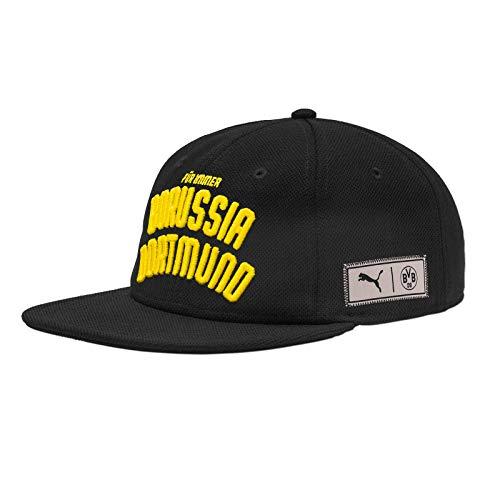 PUMA BVB Borussia Dortmund Premium Downtown Snapback Cap (one Size, schwarz/gelb)