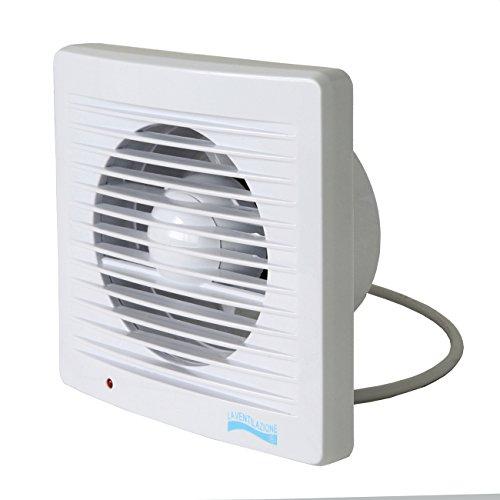 La Ventilazione AA12E Aspiratore Elicoidale con Indicatore Luminoso di Funzionamento per Foro diametro 120 mm / 5'