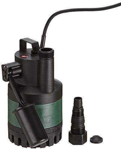 DAB Nova Up Dompelpomp/vlakzuiger, 300 automaat, 380 W, max. Flow 7,6 m3/h, max. opvoerhoogte: 9 m.