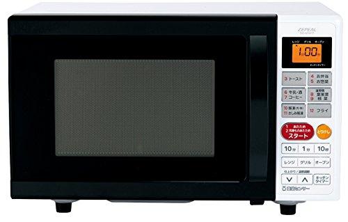 ZEPEAL ゼピール オーブンレンジ 【重量センサー&温度センサー搭載】 庫内容量16L DO-M1617