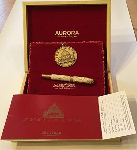 Pluma estilográfica Aurora tremel Edición Limitada con caja y moneda conmemorativa