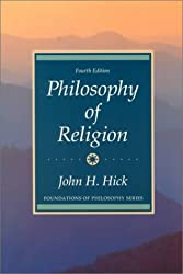 Book cover: Philosophy of Religion by John Hick
