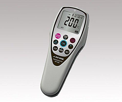 防水デジタル温度計 HACCPアラート機能付 校正証明書付 WT-200