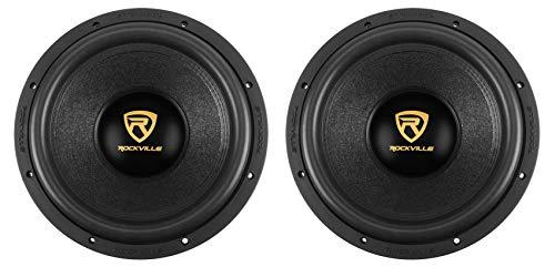 """(2) Rockville W12K9D4 12"""" 8000 Watt Car Subwoofers Dual 4-Ohm Subs CEA Compliant"""