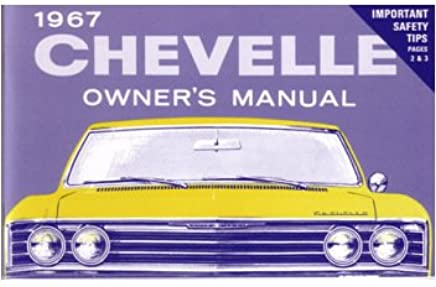 1967 Chevrolet Truck Owners Manual User Guide Reference Operator Book Fuses OEM