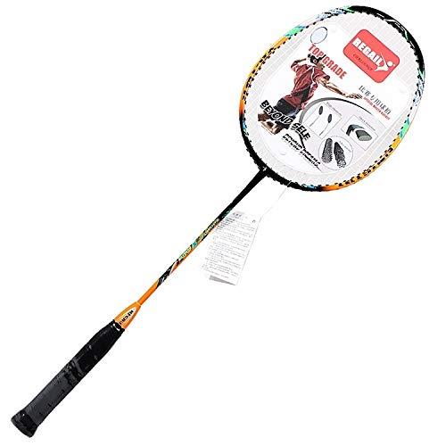 YIXIE Badmintonschläger REGAIL Kohlenstoff Durable Badmintonschläger for Anfänger WEEXIZHIGUANGLIYA (Color : Green)