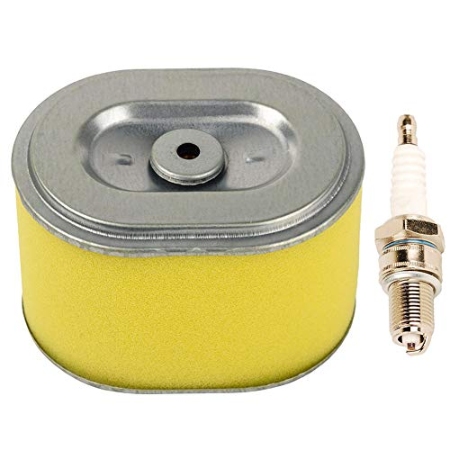 HIFORM Air Filter with Spark Plug Replacement for Honda GX140 GX160 GX200 5.5hp 6.5hp Engine Generator Water Pump