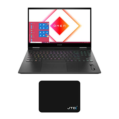 OMEN 15 15.6' FHD 300Hz Gaming Laptop Gamer PC, Intel 6-Core...