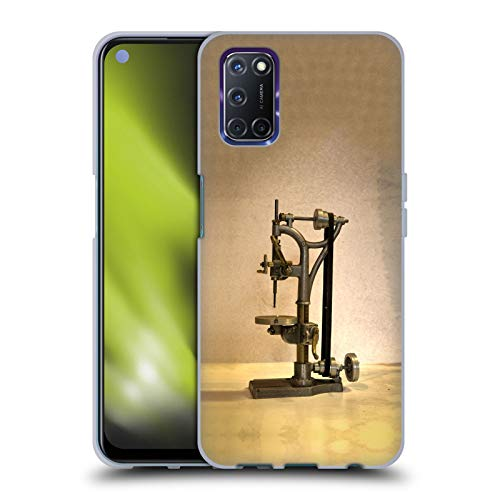 Head Case Designs Officially Licensed Celebrate Life Gallery Drill Press Tools Soft Gel Case Compatible with Oppo A72