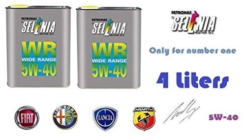 OLIO MOTORE SELENIA WR 5W40 4X 1 LITRO