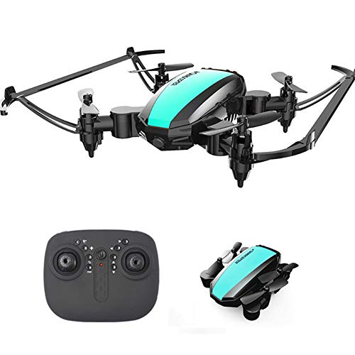 Mini drone, gyroscope à quatre axes, en mode sans tête, maintien d'altitude, 360 capotage Toy drones pour les enfants et les débutants qui peuvent être contrôlés par le biais de l'application,Vert