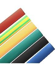 DFYYQ 1M 10.0mm 6 Color 2: 1 de poliolefina termorretráctiles Tubo Que Envuelve Wrap (Color : Black)