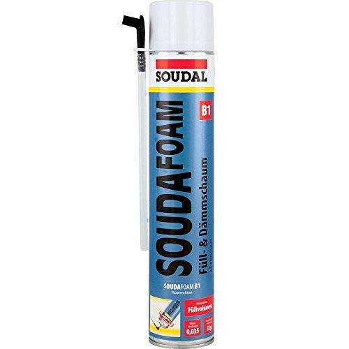 Soudal 101351 Montageschaum Soudafoam B1 750ml