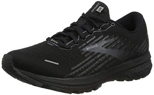 Brooks Ghost 13 GTX, Zapatillas para Correr Hombre, Negro, 40.5 EU