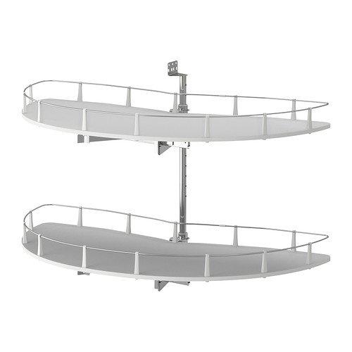Preisvergleich Produktbild Ikea UTRUSTA - Crnr Unterschrank Ausziehbeschlag - 128 cm