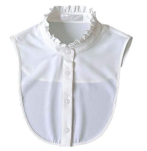 Dragon Troops Classic White Fashion Shirt Falschkragen, Weiß Shirt Falschkragen, Weiß