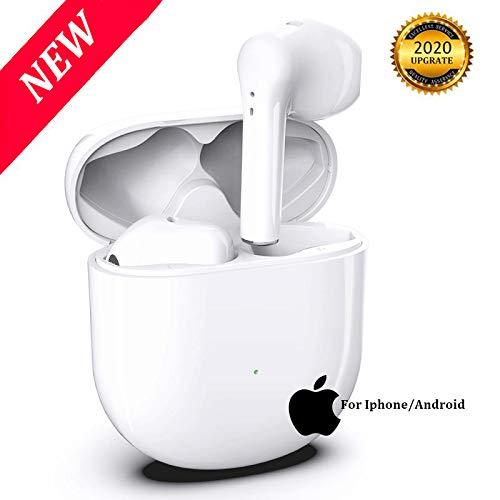 Bluetooth Kopfhörer Kabellos in Ear,mit Premium Klangprofil IPX5 Wasserdicht Sport-Kopfhörer 3D-Stereo-Rauschunterdrückung,Touch Kabellos Kopfhörer für iPhone/Android/Apple AirPods Pro