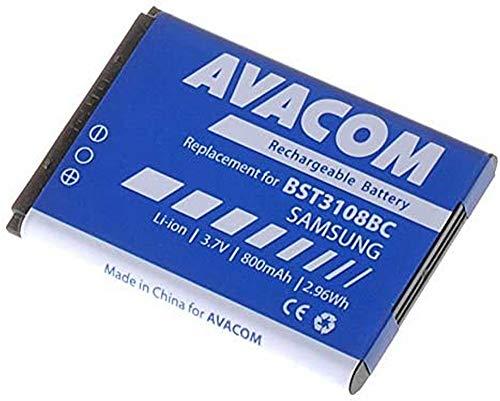 Avacom Handy Akku Samsung X200, E250 Li-Ion 3, 7V 800mAh (Ersatz AB463446BU), GSSA-E900-S800A