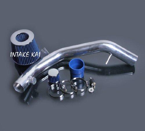 Cold AIR Intake KIT FIT for 1999-2005 Volkswagen Golf GTI VR6 Jetta GLI GLS GLX 2.8L Engine (Blue)