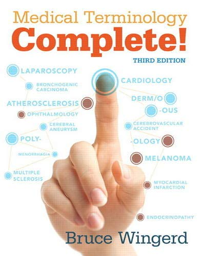 Medical Terminology Complete with MyLab Medical Terminology plus Pearson eText - Access Card Package