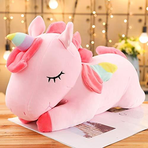 AYQX Unicornio mítico Juguetes de Peluche Animales de Dibujos Animados de Peluche Caballo Almohadas para bebés muñecas de Pegaso Regalos de año Nuevo para niños niños 20cm pinkclassic