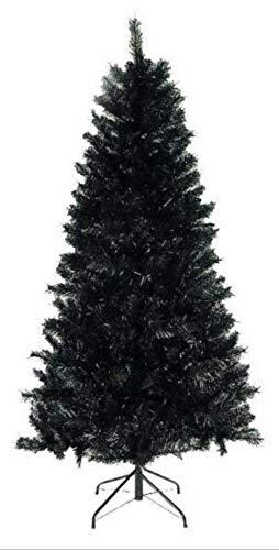 The Perfect PVC-6BLK 6 ft. PVC Christmas Tree44; Black