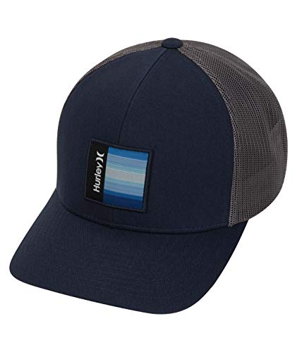 Hurley M Seacliff Hat Gorra, Hombre, Obsidian/Mystic Dates, 1SIZE