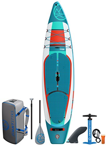 Jimmy Styks Puffer (2018) Inflatable Stand Up Paddle Board Green &...