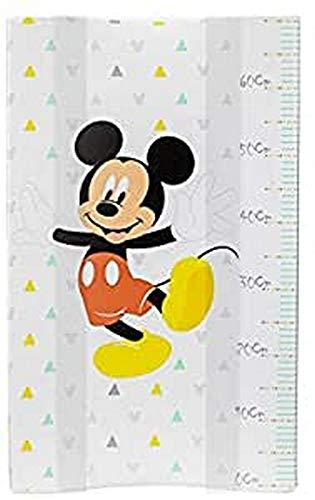 Interbaby Mk010 - Cubrebañeras con Esponja Disney Mickey Mouse, Blanco, 70 cm