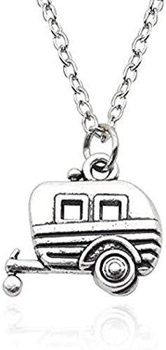 Moda caballo coche collar colgante collares y colgantes aleación de Color plateado para mujeres mejor amigo para siempre regalo de fiesta Hiphop