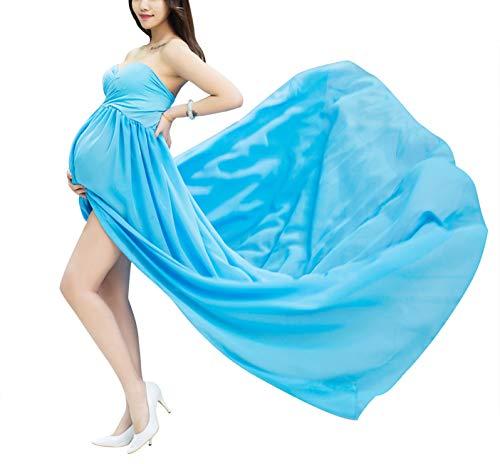 Happy Cherry Sexy Schwanger Fotografie Requisiten Frauen Lange Chiffon Kleider Mutterschaft Fotoshooting Kleidung Lang Kleid Schwangerschafts Maxikleid Dress