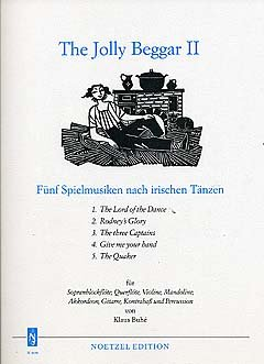 THE JOLLY BEGGER 2 - arrangiert für Sopranblockflöte - Querflöte - Violine - Mandoline - Akkordeon - Gitarre - Kontrabass - PERCUSSION [Noten / Sheetmusic]