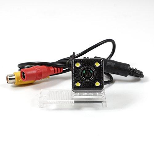 CCD Track auto telecamera posteriore per Peugeot 3008/308Citroen Elysee/DS fotocamera telecamera parcheggio camera Track Line Night Vision LED impermeabile