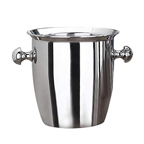 Champagne Bucket Champagne Cooler, Refrigerador De Botella De Acero Inoxidable Enfriador De Acero Inoxidable, Caja Fuerte De Los Alimentos