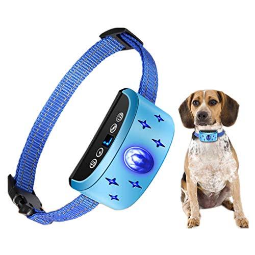 DUTUI Dispositivo De Adiestramiento De Perros, Equipo De Control De Ladridos, Adiestramiento De Comportamiento Canino, Collar De Adiestramiento Electrónico, Apto para Todas Las Razas De Perros