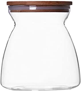 HYRGLIZI Organisateur de Cuisine Réservoir de Stockage de Grain Boîte scellée pour Nourriture Boîte de Rangement en Verre ...